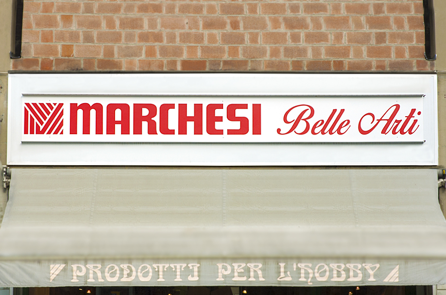 Insegna a Led Marchesi
